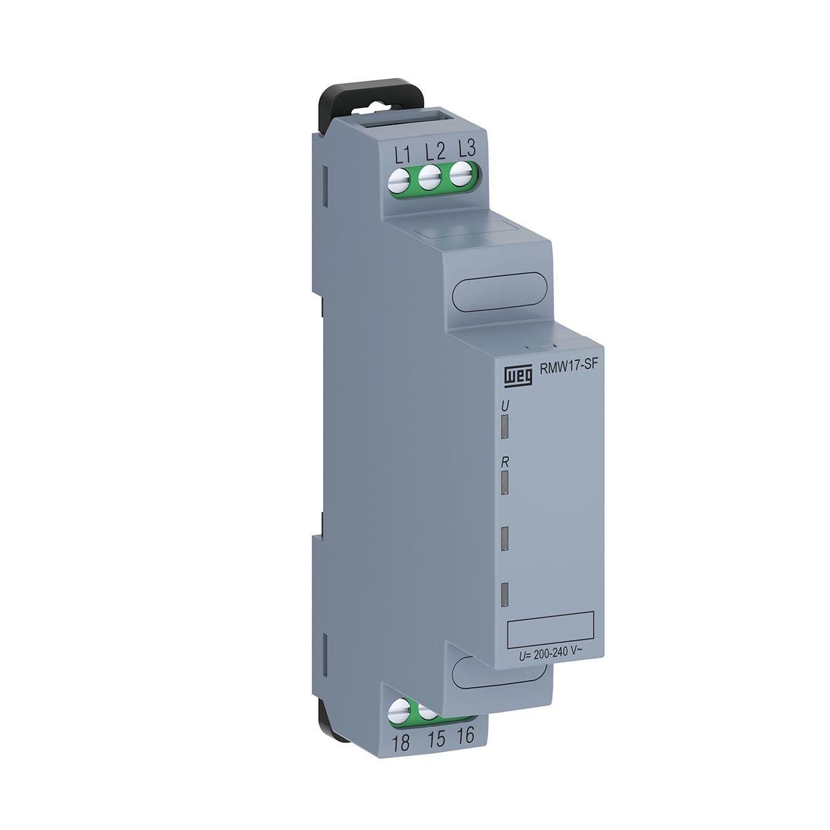 Relé de Proteção Sequência de Fase 220V RMW17-SF WEG