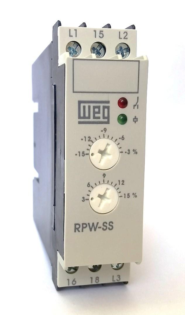 Relé de Proteção Subtensão e Sobretensão RPW-SS 380V WEG