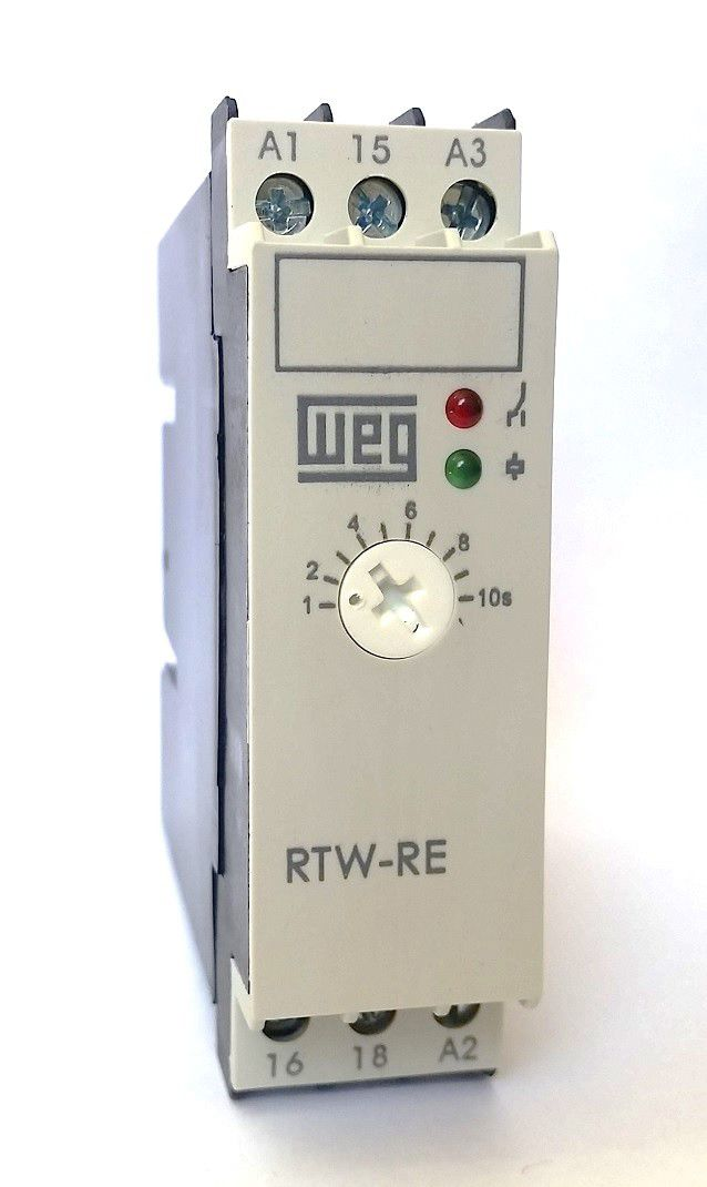 RELE ELETRONICO TEMP. RTW-RE 1NAF1-10S 10046609 WEG