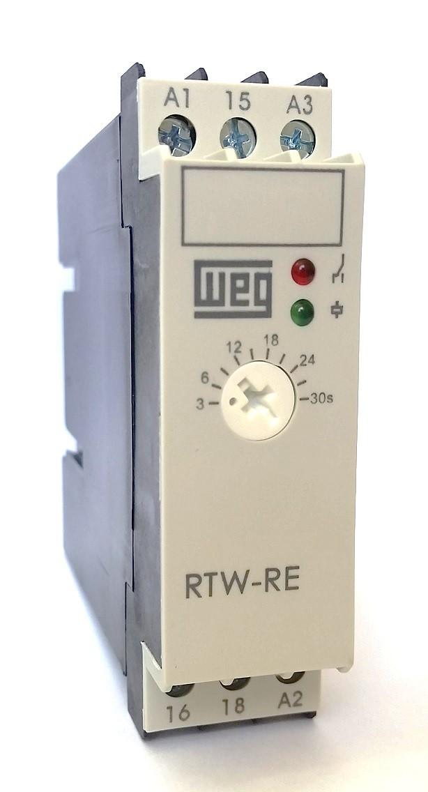 Relé Eletrônico Temporizador Retardo 3S-30S 220V WEG