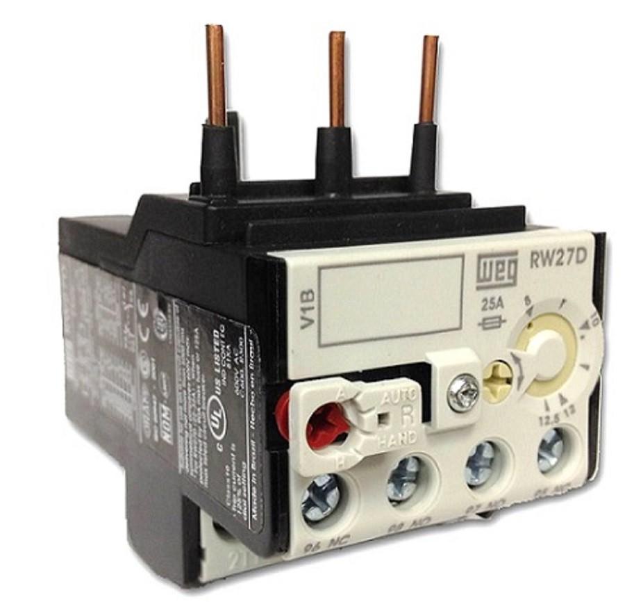 Relé sobrecarga 8-12,5A RW27-1D3-D125 p/ Contator CWM WEG