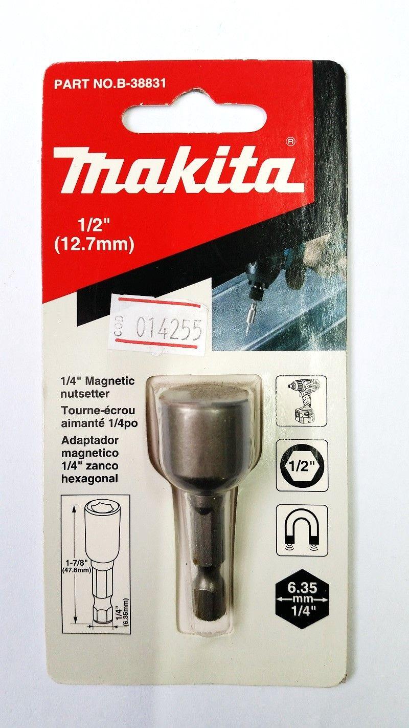 "Soquete Magnético 1/2"" B-38831 MAKITA"