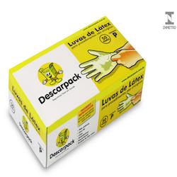 Luva de Procedimento em Látex - Uso Saúde - Descarpack