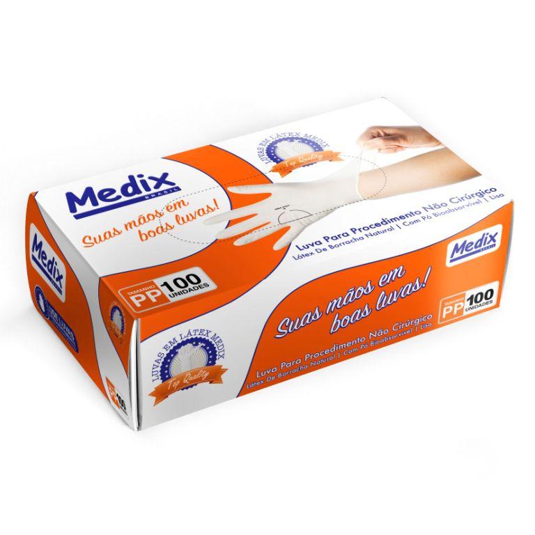 Luva De  Procedimentos  - Medix - PP