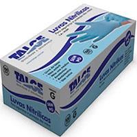 Luva Nitrílica Azul - Talge