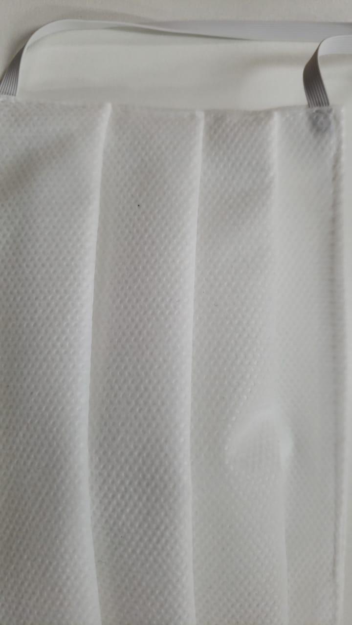 Máscara Desc Dupla TNT Não Cirúrgica c/elástico 100% - pcte c/10