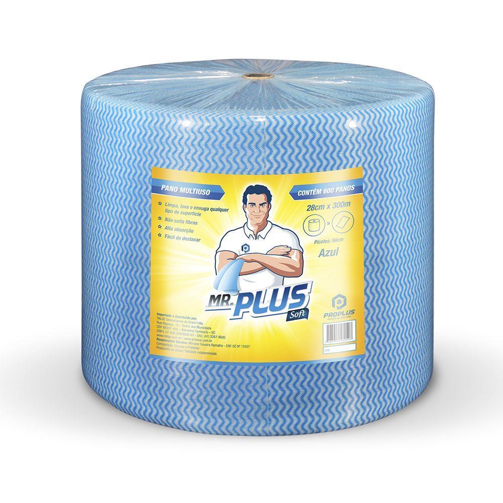 Pano Proplus Azul 30 Cm X 300 M - Proplus