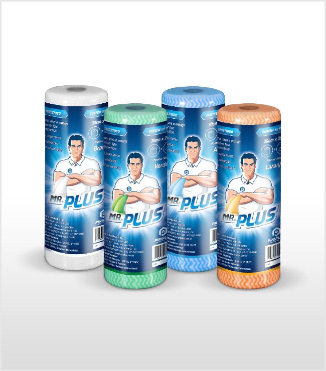 Pano Multiuso Azul 30cmx25m - Proplus