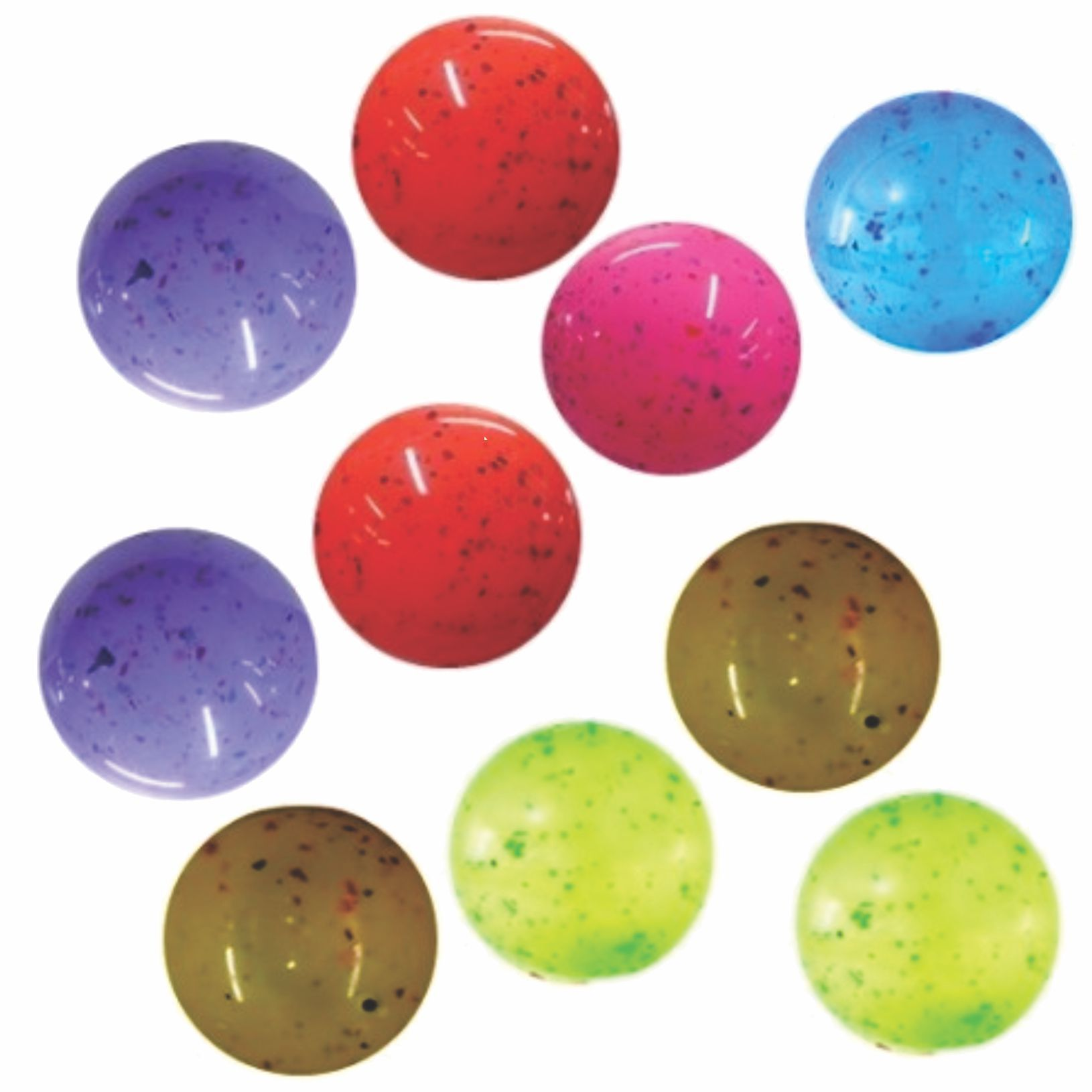 10 Bolas Confete Vinil Cores Sortidas Super Diversão Super Leve