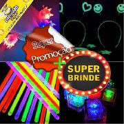 Kit 150 Itens Luminosos Festas Eventos Super Brinde
