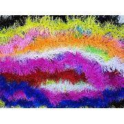 100 Marabus Colorido 150cm Festas Formatura Aniversario