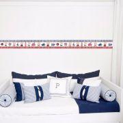 Adesivo de Parede Faixa Decorativa Para Quarto Infantil Ursinho Marinheiro