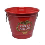 Balde de Gelo Grande Modelo Cerveja Vermelho SA 2 Litros