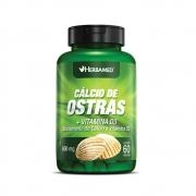 Cálcio De Ostras + Vitamina D3 60 Cápsulas 600Mg Herbamed