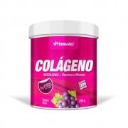 Colágeno + Vitaminas E Minerais Uva 250Gr Herbamed