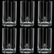 Conjunto 6 Copos Long Drink Cristal Bohemia Set-bar Favorit 380 ml
