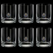 Conjunto 6 Copos para Wisky Cristal Bohemia Set-bar Favorit 310 ml