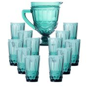 Copo de Água Elegance Tiffany 350ML Kit com 12 + Jarra 1L