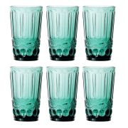 Copo de Água Elegance Tiffany 350ML Kit Com 6 Unidades