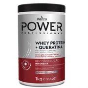 Creme De Reconstrução Intensiva Condicionante Whey Protein + Queratina Power 1Kg