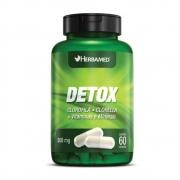 Detox 60 Cápsulas 500Mg Herbamed