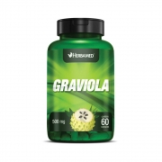 Graviola 60 Cápsulas 500Mg Herbamed
