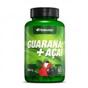 Guaraná + Açaí 60 Cápsulas 500Mg Herbamed