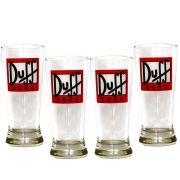 Jogo 4 Tulipa Cerveja Duff Home Bar