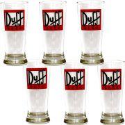 Jogo 6 Tulipa Cerveja Duff Home Bar