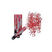 Kit 10 Lanças Confetes Coração Metalizado Para Festas - Vermelho