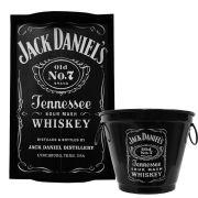 Kit Bandeja (P) + Balde 2 L Jack Daniels Whisky