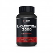 L-Carnitina 120 Cápsulas 500Mg Herbamed