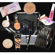 Maleta Profissional com Produtos de Maquiagem Dentro