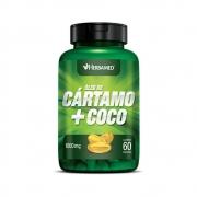 Óleo De Cártamo + Coco 60 Caps 1000Mg Herbamed