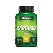 Óleo De Cártamo + Vitamina E 120 Cápsulas 1000Mg Herbamed