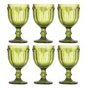 Taça De Água Libélula Verde Kit 6 Unidades