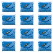 Toalha Mágica Azul Ziplock 75x20cm Kitc/12 Absorvente Fixxar