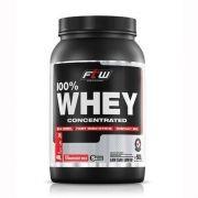 Whey Protein 100% Concentrado Morango 900g FTW