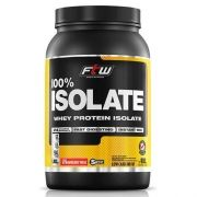 Whey Protein 100% Isolada Morango 900g FTW