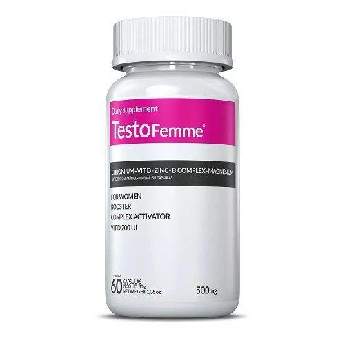 Testofemme 500mg + Thermogenize Femme 210mg Com 60 Cápsulas Inove