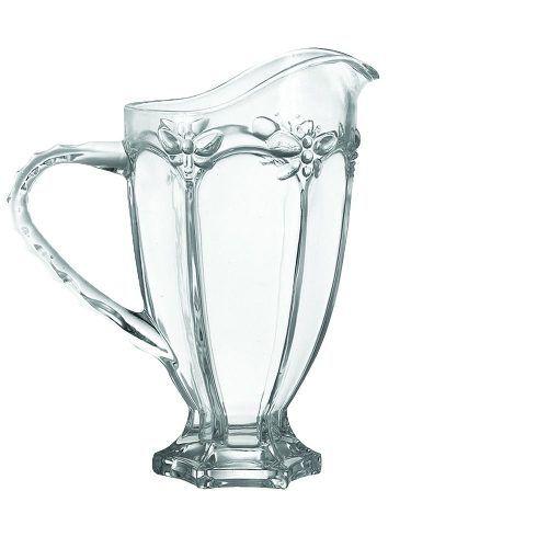 Jogo 8 Taças De Água Libélula Transparente + Jarra 1 Litro