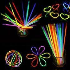 Kit 150und - 100pulseiras Neon + 50anéis Coroa - Festas