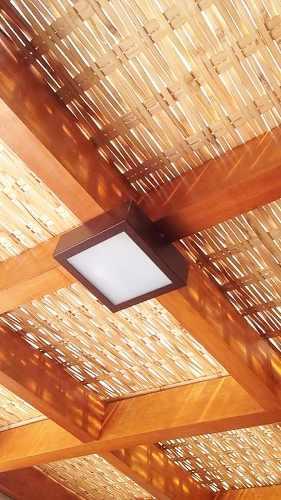 7m2 Forro De Bambu Para Pergolado, Gazebo, Restaurante