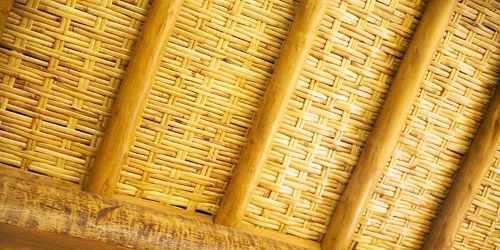 Kit 09 Placas 1,66 X 0,77mt Forro De Bambu + Frete