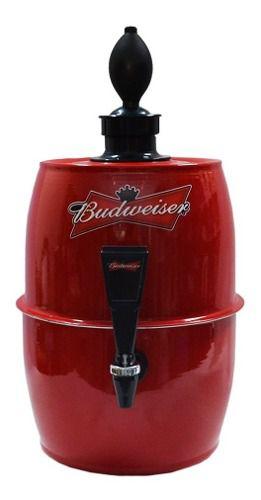 Chopeira Portátil 5,2 Litros - Cerveja Gelada Bdw Vermelha