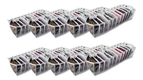 Organizador De Calcinha Colmeia Com 11 Nichos - Kit 12 Unid