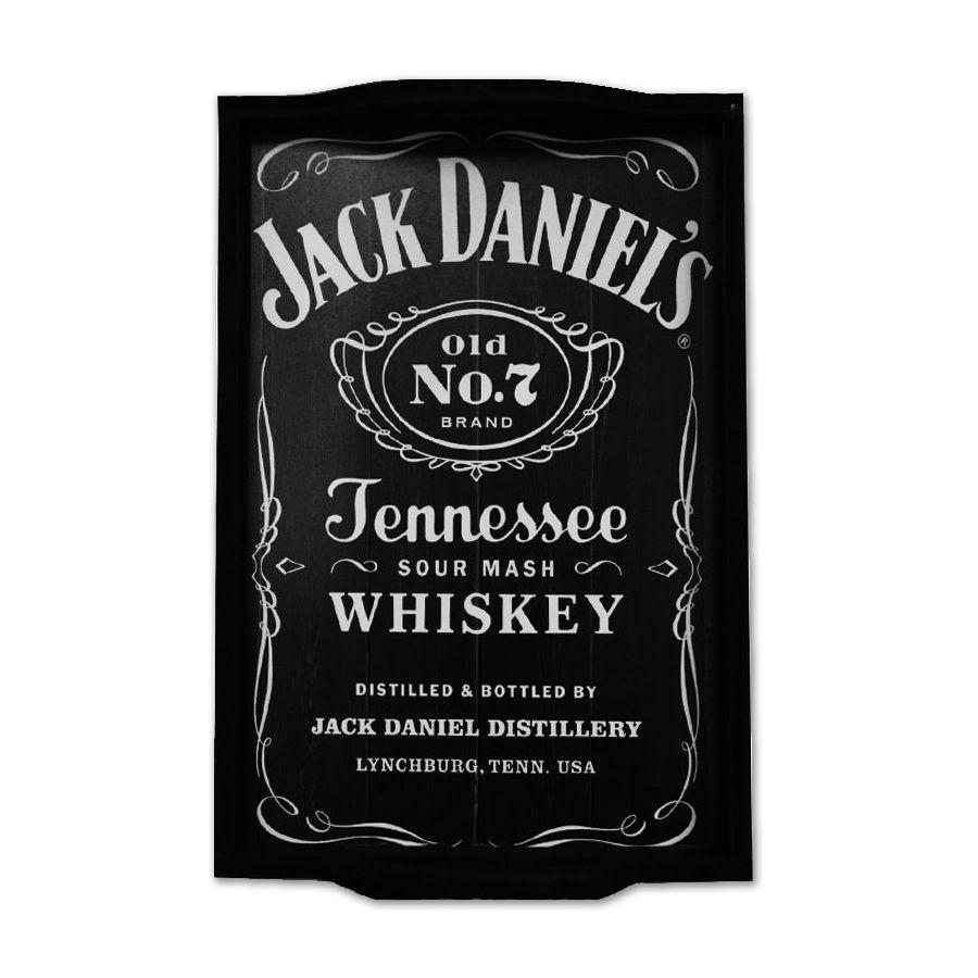 Bandeja Personalizada Jack Daniels Whisky - (P)