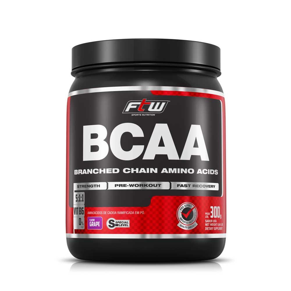 BCAA 300g Pó Sabor Uva FTW