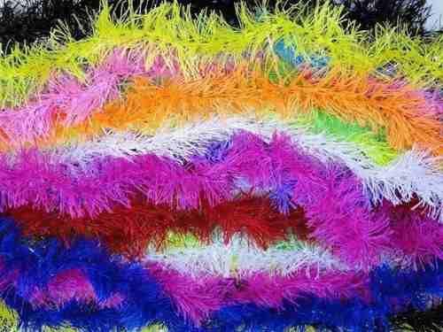 Brinquedo para Gato 10 Marabus Pluma Colorido 150cm