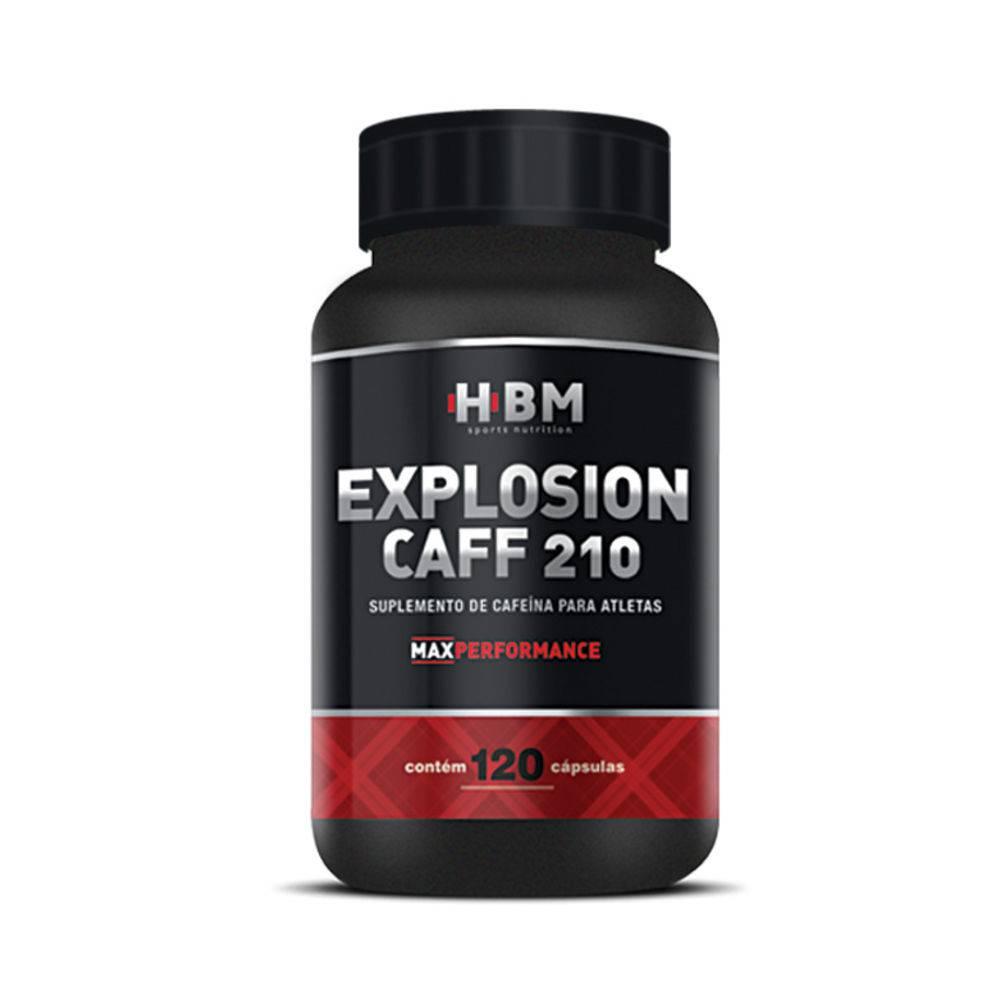 Cafeína 120 Cápsulas 210Mg Herbamed Explosion Caff